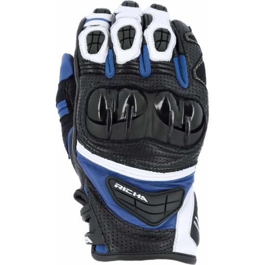 Moto rukavice RICHA STEALTH modré