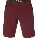 Pánské šortky Fox Machete Tech Short Heather Red