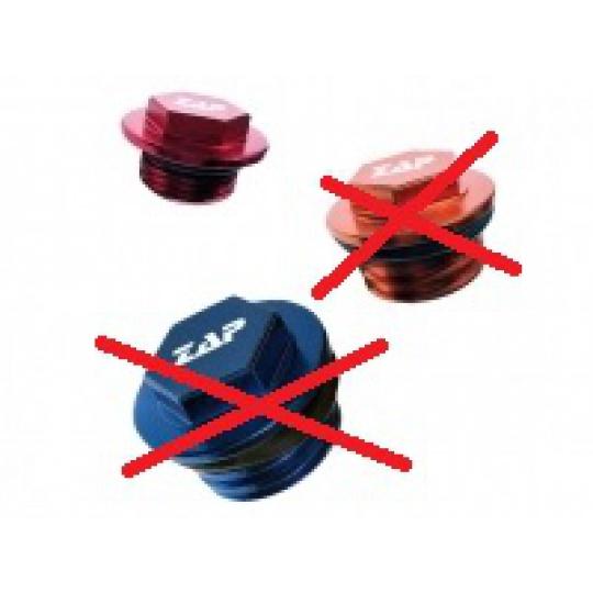 olejová zátka RM,RMZ 450 05-,RMZ 250 07- červená