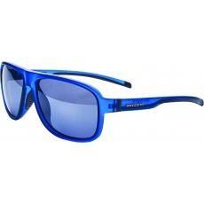 sluneční brýle BLIZZARD sun glasses POLSF705140, rubber trans. dark blue, 65-16-135