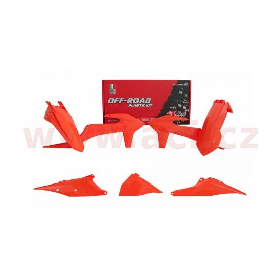 sada plastů KTM, RTECH (oranžová, 5 dílů, vč. L krytu vzduch filtru)