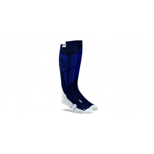 ponožky Hi-SIDE 100% (modrá/šedá)