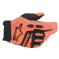rukavice FULL BORE 2022, ALPINESTARS, dětské (oranžová/černá)