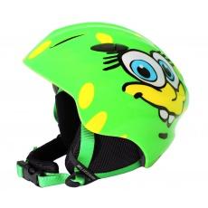 helma BLIZZARD Magnum ski helmet junior, green cheese shiny