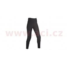 ZKRÁCENÉ kalhoty SUPER LEGGINGS, OXFORD, dámské (legíny s Kevlar® podšívkou, černé)