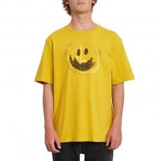 Pánské triko Volcom Fake Smile Bxy Ss Gold