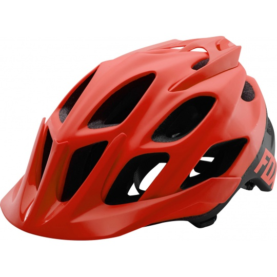 Cyklo Helma Fox Flux Creo Helmet Red/Black
