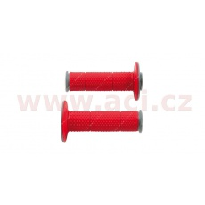 gripy Full Diamond (dvouvrstvé, extra měkké), RTECH (červeno-šedé, pár, délka 116 mm)