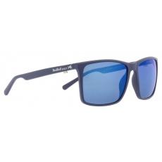 sluneční brýle RED BULL SPECT Sun glasses, WING BOW-003P, matt blue, smoke with blue mirror POL, CAT3, 59-16-145