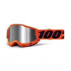 ACCURI 2 Goggle Orange - Mirror Silver Lens