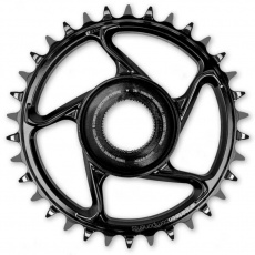 e*thirteen   e*spec Aluminum Direct Mount Chainring   38T   Shimano E8000   Black