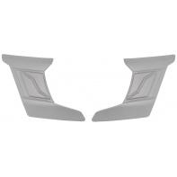 čelní kryty vrchní ventilace pro přilby Cyklon, CASSIDA - ČR (bílá perleť, pár)