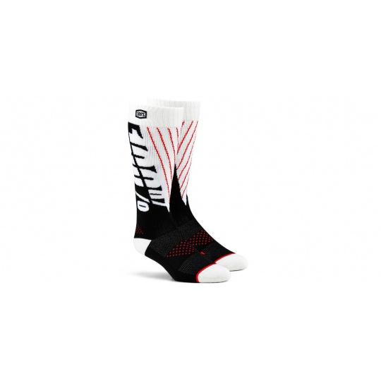 ponožky TORQUE 100% (černá/bílá)