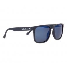 sluneční brýle RED BULL SPECT Sun glasses, LEAP-001P, matt dark blue rubber, smoke with blue mirror POL, CAT3, 55-17-145