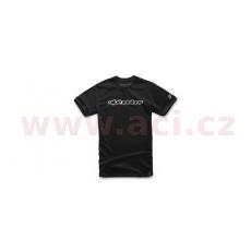 triko WORDMARK TEE krátký rukáv, ALPINESTARS (černé)