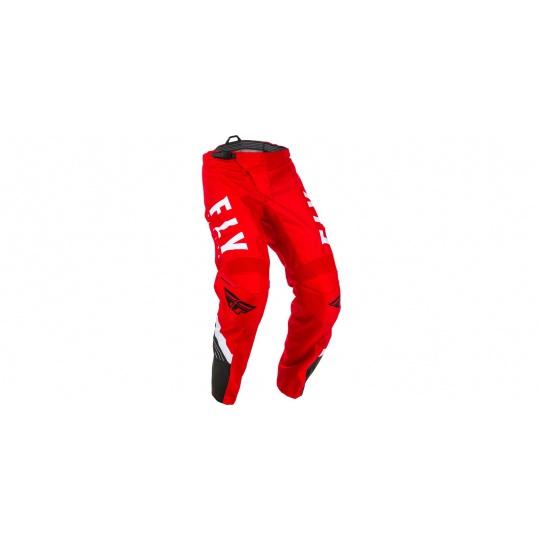 kalhoty F-16, FLY RACING (červená/černá/bílá)