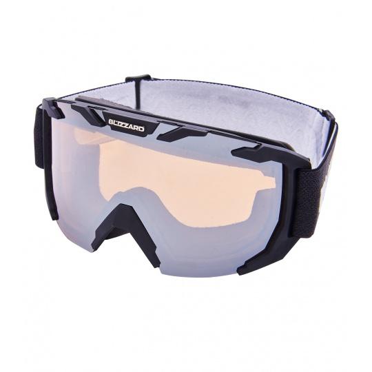 lyžařské brýle BLIZZARD Ski Gog. 925 MDAZO, black matt, amber2, silver mirror