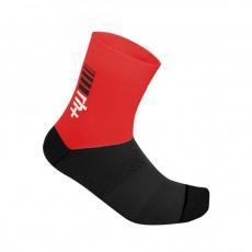 ponožky RH+ Zero Sock 13, red/black