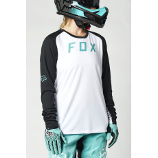 Dámský dres Fox W Defend Ls Jersey White/Black
