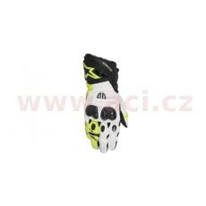 rukavice GP PRO, ALPINESTARS (černé/bílé/žluté fluo)
