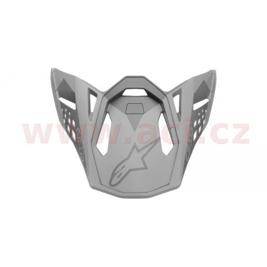 kšilt pro přilby SUPERTECH S-M10 META, ALPINESTARS (šedý matný)