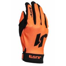 Moto rukavice JUST1 J-FLEX neonově oranžové