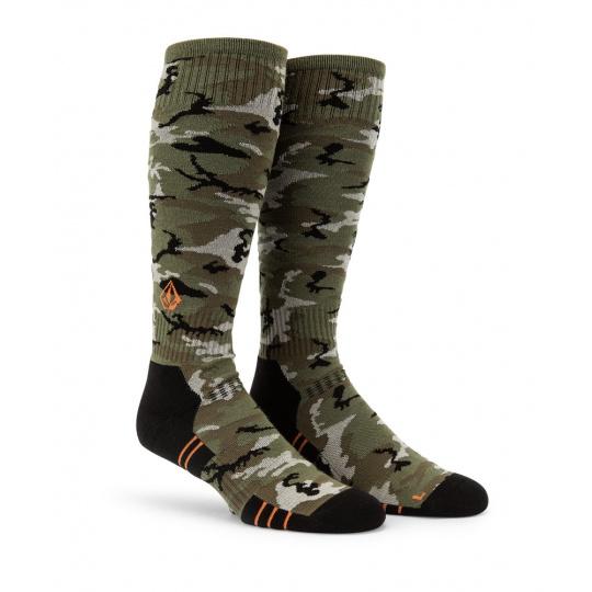 Pánské ponožky Volcom Lodge Sock Gi Camo
