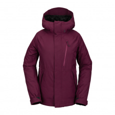 Dámská bunda Volcom Aris Ins Gore Jacket Vibrant Purple
