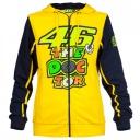 Dámská mikina Valentino Rossi VR46 DOCTOR žlutá 206001