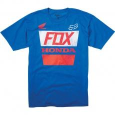 Pánské tričko Fox Honda Distressed Basic Tee Blue