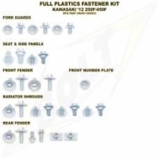 sada šroubů plastů KX 125/250 03-07, KXF 250 04-18, KXF 450 04-18