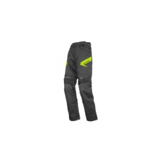 ZKRÁCENÉ kalhoty Brock, AYRTON (černé/fluo)