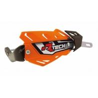 Kryty páček RTECH FLX ALU oranžové vč. montážní sady