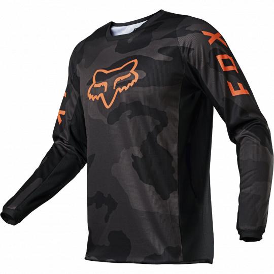 Dětský dres Fox Yth 180 Trev Jersey Black Camor
