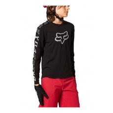 Dětský dres Fox Yth Ranger Dr Ls Jrsy Black