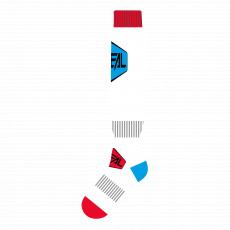 Podkolenky O´Neal Performance MINUS modrá/červená/bílá