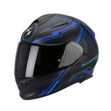Moto přilba SCORPION EXO-510 AIR SYNC černo/modrá matná
