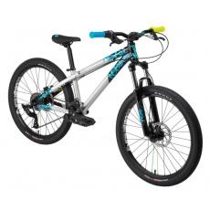 """NS Bikes Clash Jr. (24"""") XV - silver/black/cyan"""