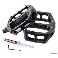 DMR Bikes V8 Grease Port pedály - Diamond Black černé