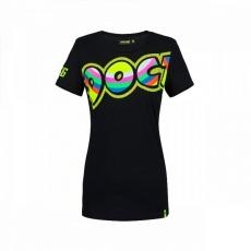 Dámské triko Valentino Rossi VR46 černé 307304