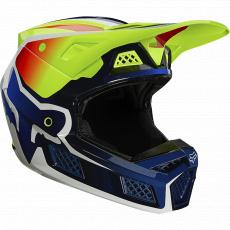 Pánská přilba Fox V3 Rs Wired Helmet, Ece Fluo Yellow