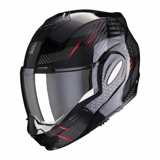 Moto přilba SCORPION EXO-TECH PULSE černo/červená