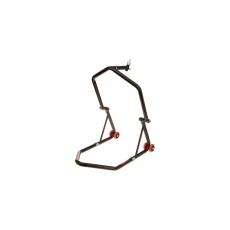 stojan na motocykl přední (do brýlí) / zadní, Q-TECH (černý)