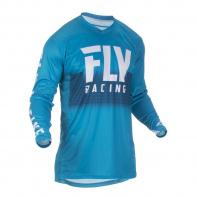 dres LITE 2019, FLY RACING - USA (modrá/bílá)