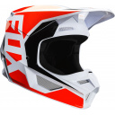 Pánská MX helma Fox V1 Prix Helmet Flo Orange