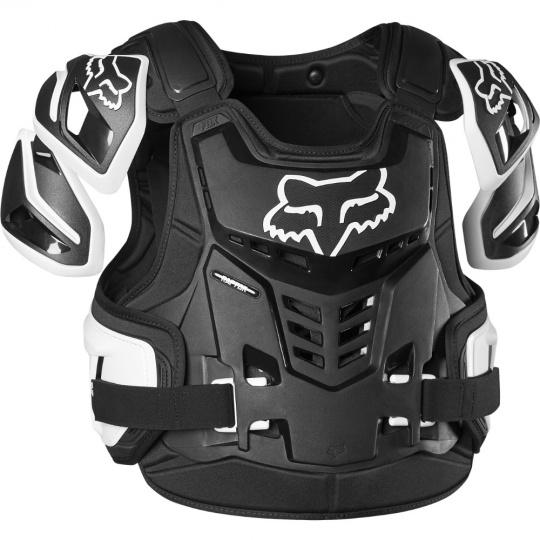 Pánský chránič Fox Raptor Vest, Ce Black/White