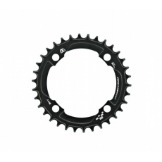 e*thirteen | Guidering | 104mm BCD | 34T | Std. Chainline | Black | 10/11/12spd Compatible
