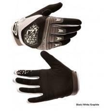 Royal VICTORY Black/White/Graphite rukavice černé
