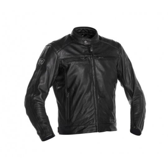 Moto bunda RICHA RETRO RACING 3 černá kožená - nadměrná velikost