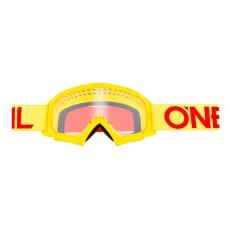 Dětské brýle O´Neal B-10 SOLID žlutá/červená